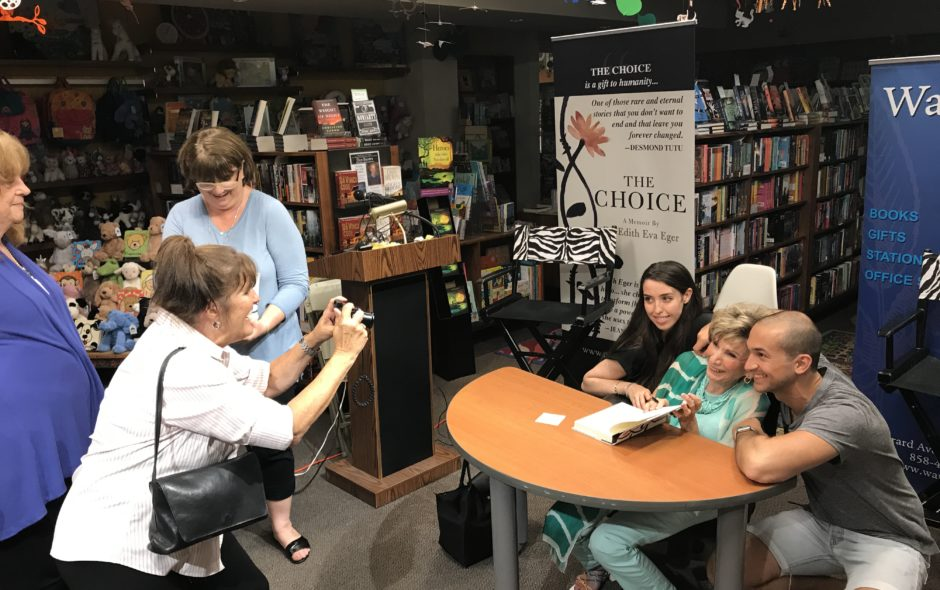 Warwick's Book Launch for THE CHOICE a Major Success