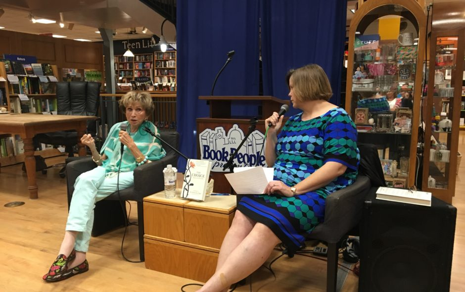 Book People Discussion and Signing a Huge Success