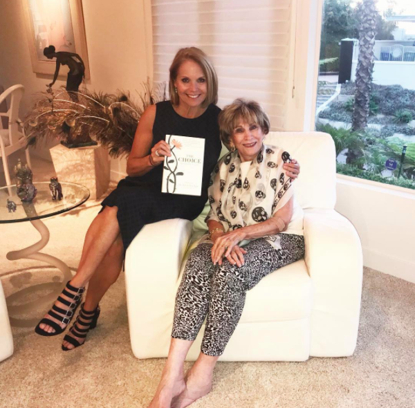"""Katie Couric Stops By to Chat About """"The Choice"""""""